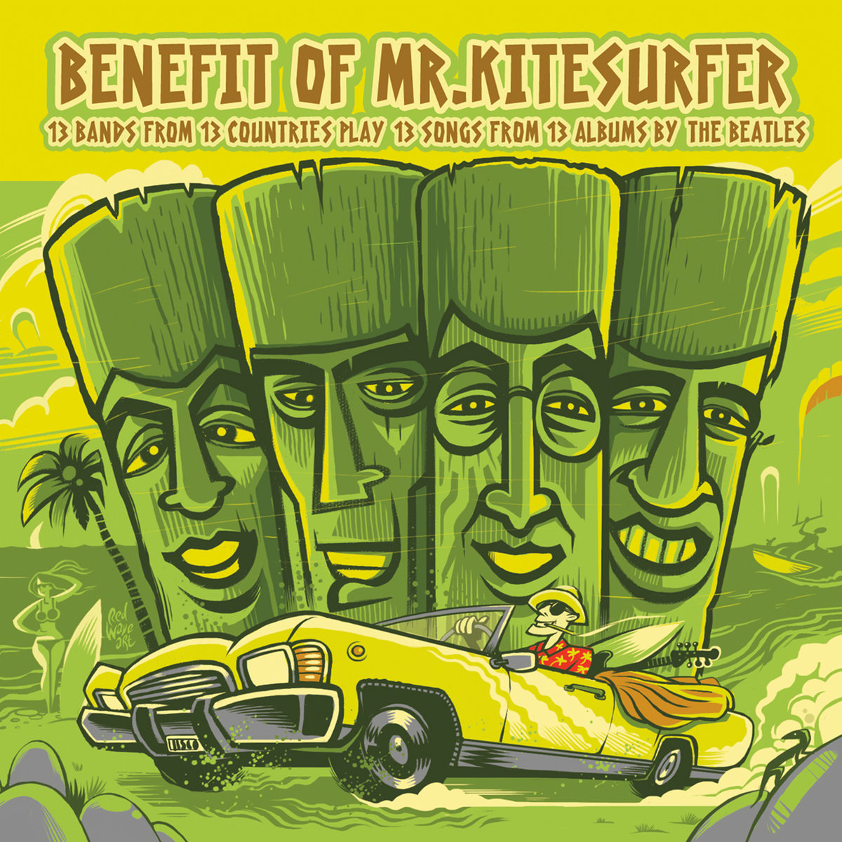 a1017913319_10 Various Artists 'Benefit Of Mr Kitesurfer' -  Sharawaji Records | Sharawaji.com