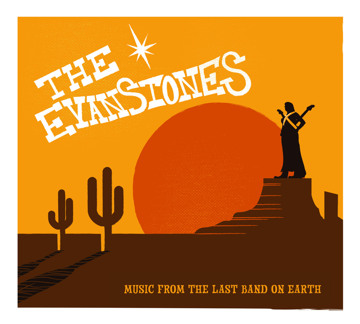SRW018 The Evanstones - Music From The Last Band On Earth (Digital Download) Image
