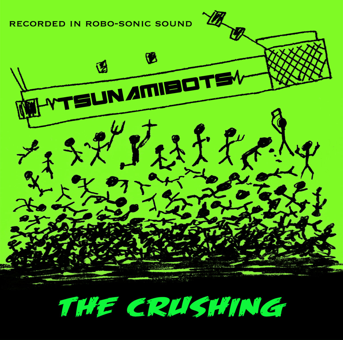 SRW011 The Tsunamibots - The Crushing (Digital Download)