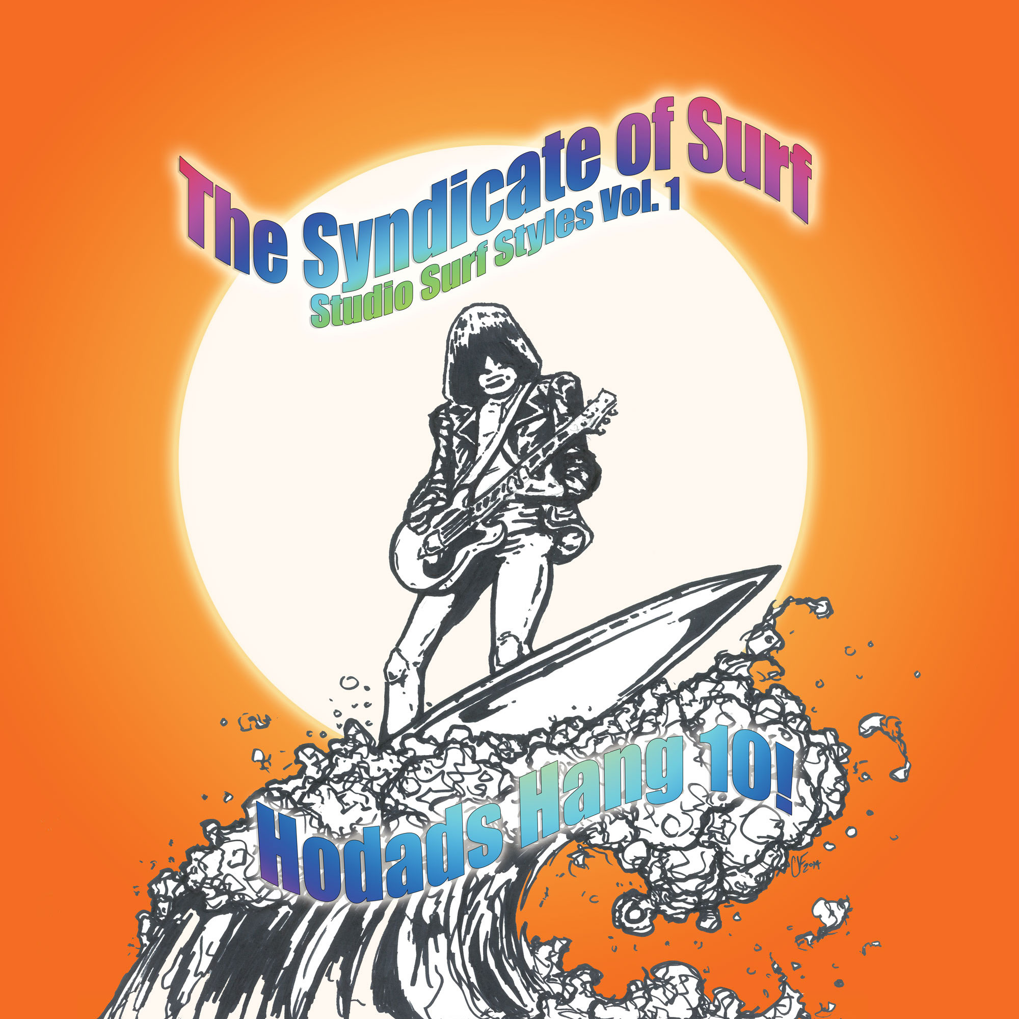 SRW007 The Syndicate of Surf - Studio Surf Styles Volume 1 Hodads Hang 10! (Digital Download)